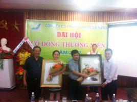 Đại Hội cổ đông thường niên 2017 ngày 17/4/2017 tại văn phòng Công ty Cổ phần Vinafor Đà Nẵng