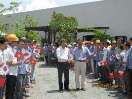 (Tiếng Việt) Đoàn Doanh Nghiệp Quận Ehime Nhật Bản Đến Thăm Và Làm Việc Tại Vinafor Đà Nẵng
